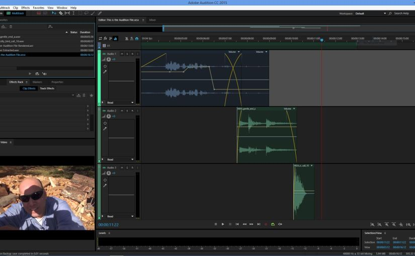 Learning New Things – Adobe Audition