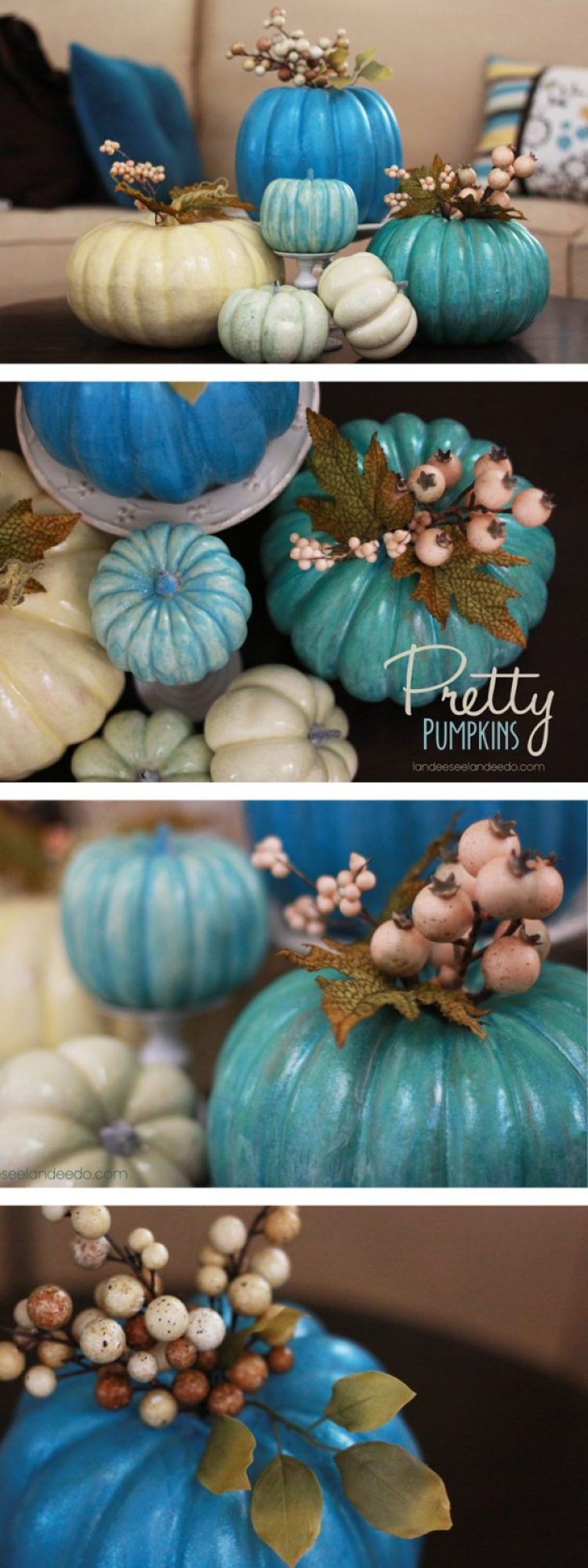 Customize your fall decorations with painted pumpkins!