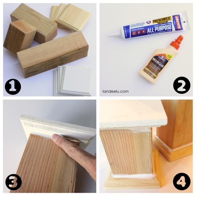 How to make pedestals DIY