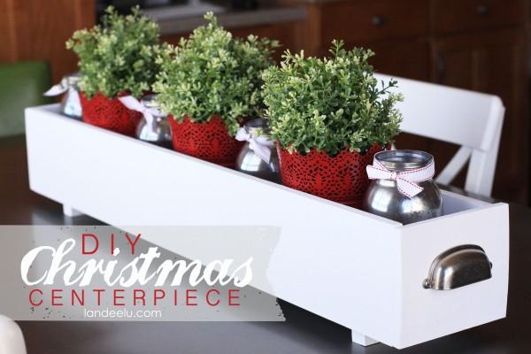 Beautiful DIY Christmas Centerpiece