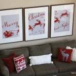 Santa Christmas Art