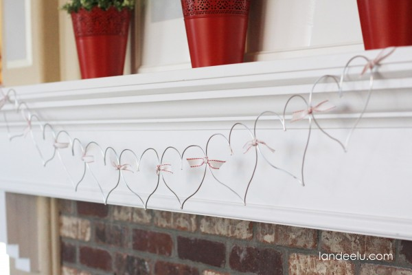 Wire Heart Valentine's Day decor