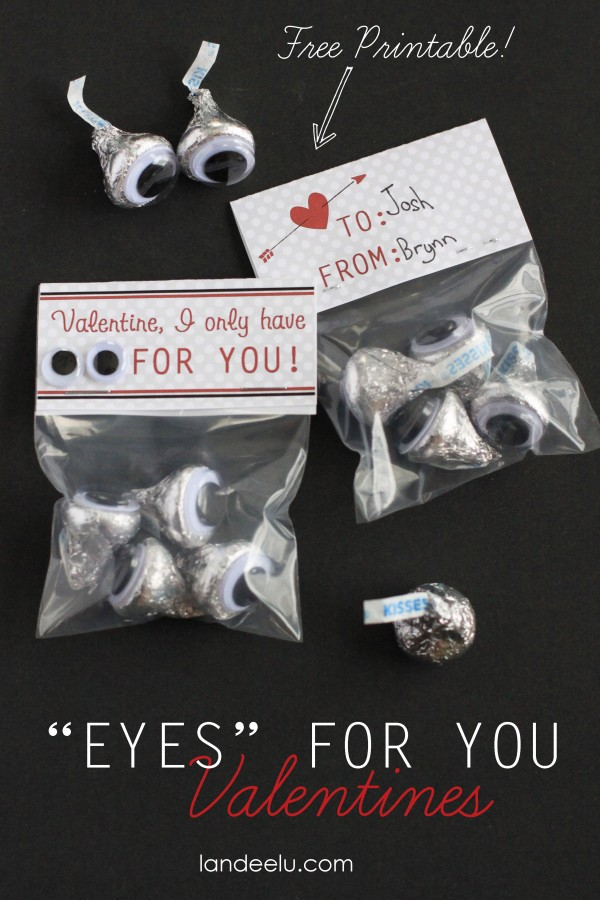 Eyes For You Valentines Idea
