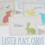 Easter Place Cards {free printable!}