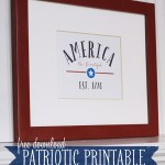 Fourth of July Printable: America The Beautiful