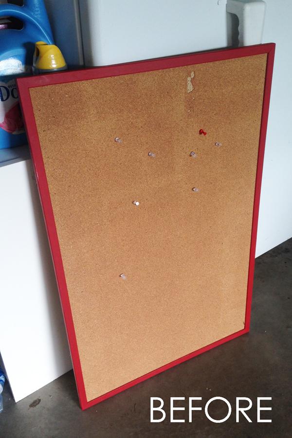 Bulletin Board Makeover Tutorial {landeelu.com}