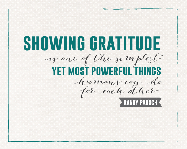 Sunday Encouragement: Showing Gratitude   landeelu.com