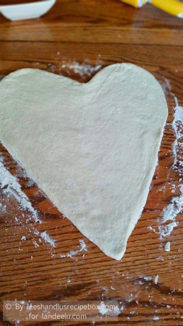 Heart Shaped Pizza  (5)