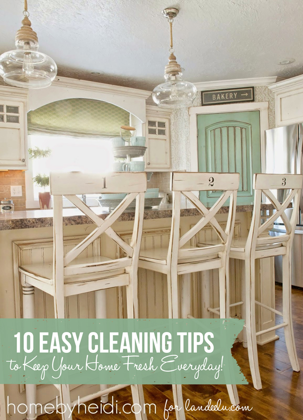 10 Easy Cleaning Tips