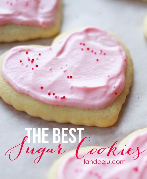 The Best Sugar Cookies Recipe     landeelu.com