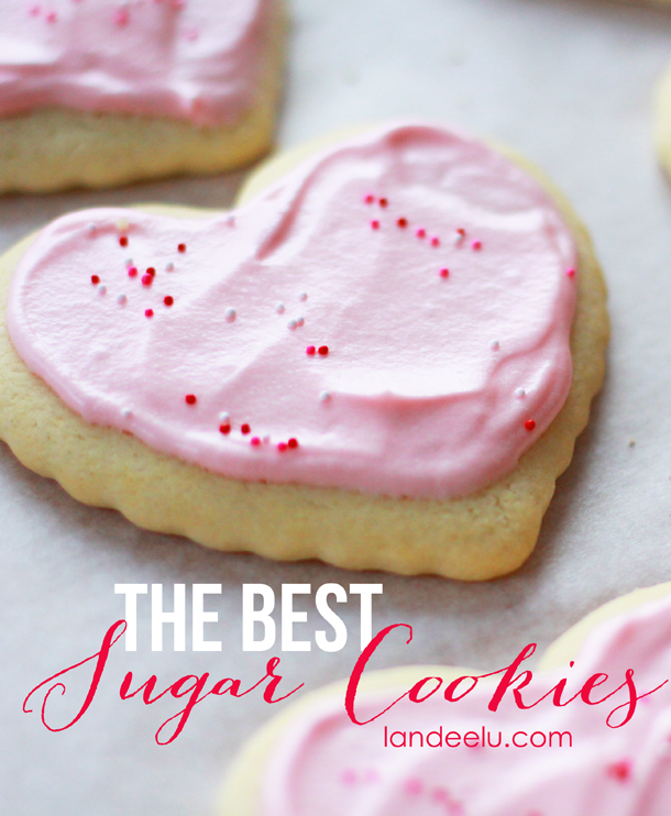 I love these cookies. Seriously THE BEST SUGAR COOKIE recipe! Sturdy AND tasty.