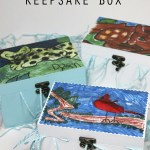 Kids' Art Embellished Keepsake Box