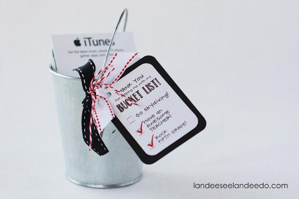 Teacher+Gift+Bucket+List  Landee See Landee Do