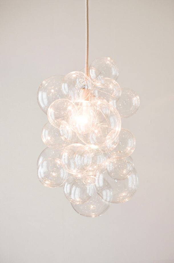 POPSUGAR DIY Bubble Chandelier