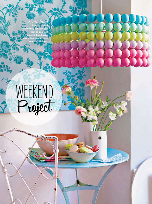 Poppy Talk - ping pong ball pendant light for landeelu dot com roundup