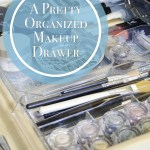 A Pretty and Organized Makeup Drawer