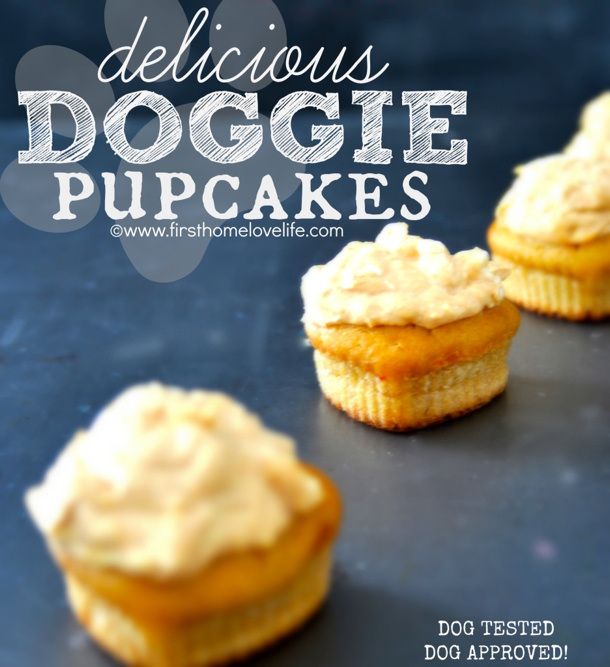 delicioius Doggie PUPCAKES by first home love life for landeelu dot com roundup