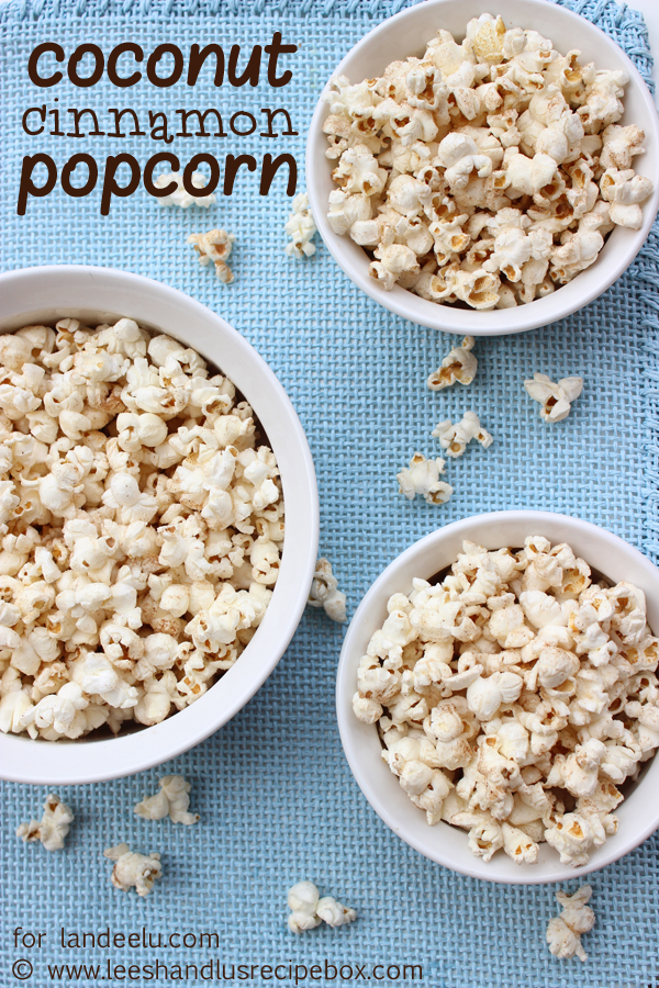 """I love that this is light and """"healthy"""". I know it has sugar on it, but not much. It's just enough to satisfy my sweet tooth without overindulging into something more sinful. Coconut Cinnamon Popcorn Recipe 