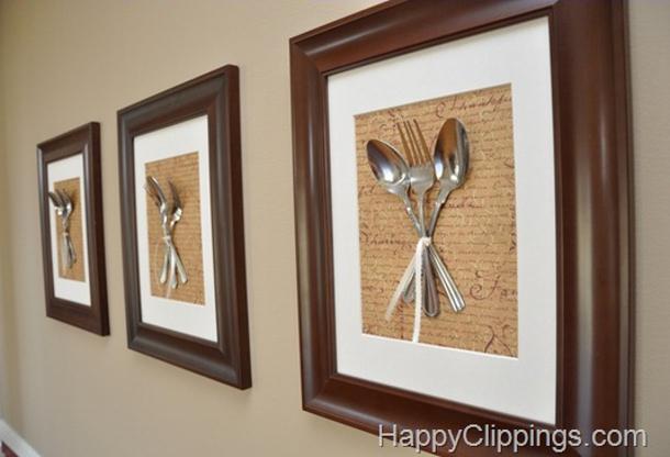 SilverwareWallArtFinale by happy clippings