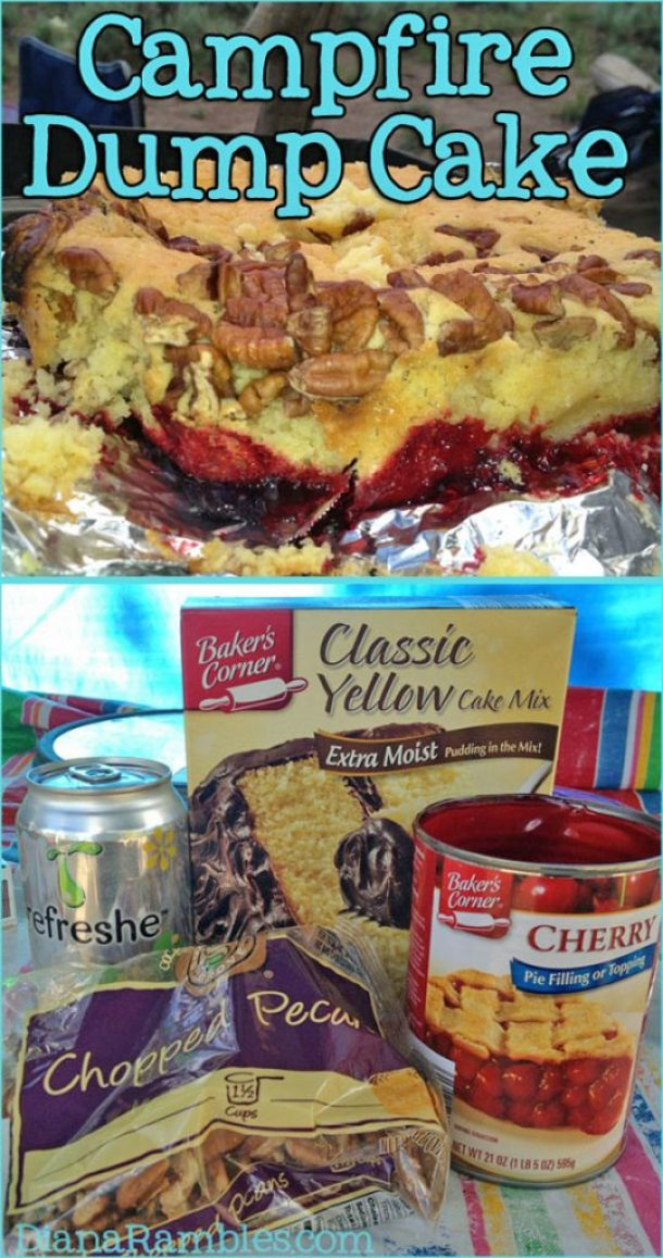 campfire-dump-cake-dutch-oven-recipe by diana rambles