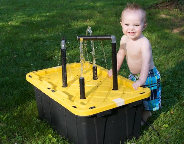 kids water table by instructables