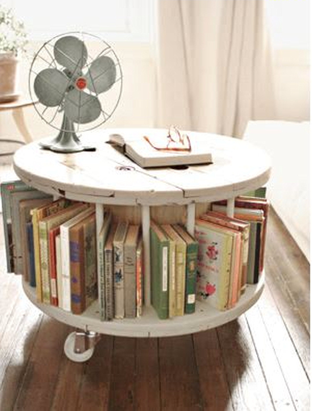 Book Mobil from a Spool via Reading is fa