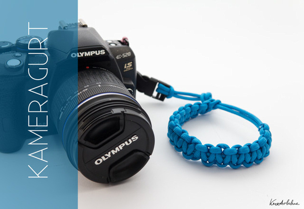 Camera Strap Tutorial via kreativbuehne