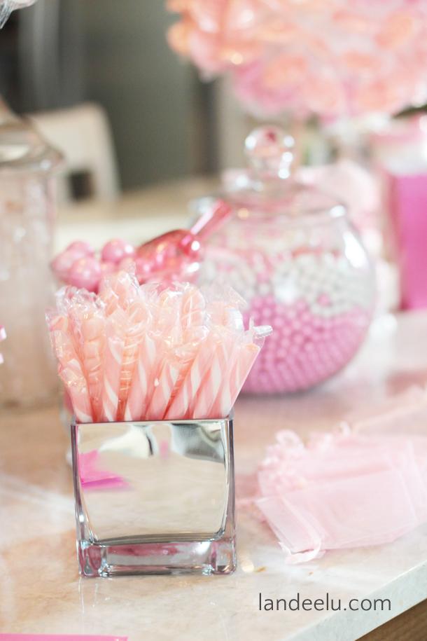 Pink And Grey Baby Shower Landeelu