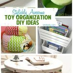 Stylishly Awesome Toy Organization Ideas | landeelu.com Great ideas to organize all of the toys but make it look pretty too!