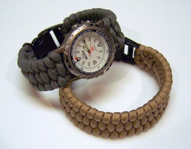 paracord watch band instructables