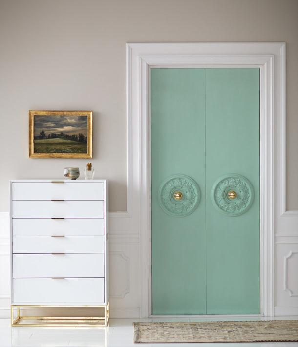 DIY-Closet-Door-Update via POPSUGAR
