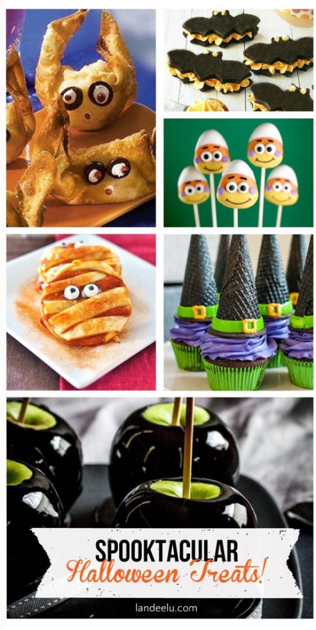 Spooktacular Halloween Treat Ideas   landeelu.com So many cute ideas for Halloween treats this year!
