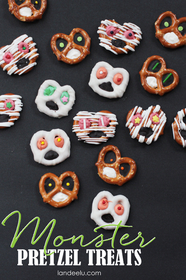 Monster-Pretzels-Food-Craft-for-Kids