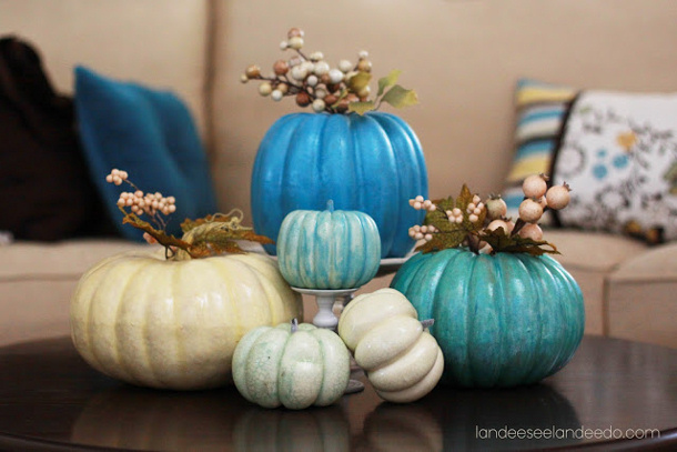 Pretty+Pumpkins+Display