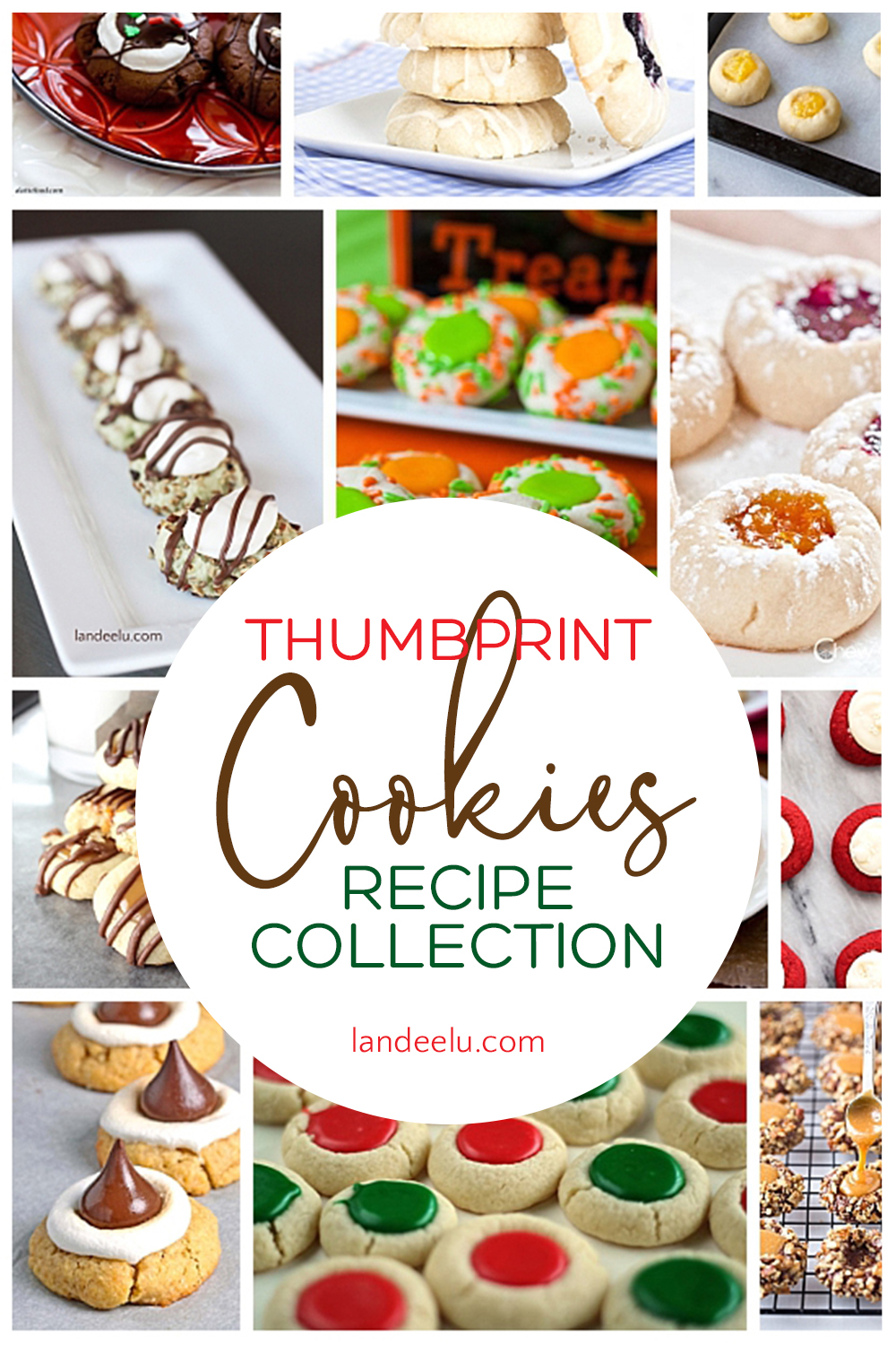 Adorable thumbprint cookies are perfect for any occasion! #cookies #cookierecipes #thumbprintcookies #holidaycookies