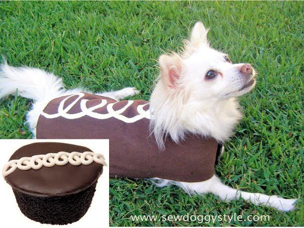 hostess cupcake dog outfit 2