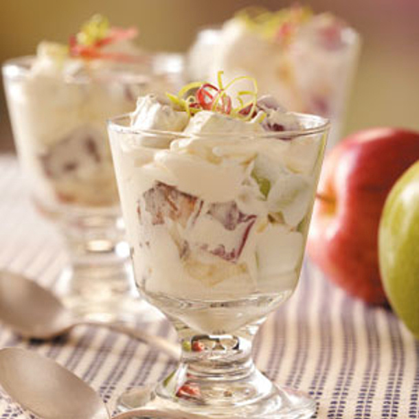 Candy Bar Apple Salad via Taste of Home