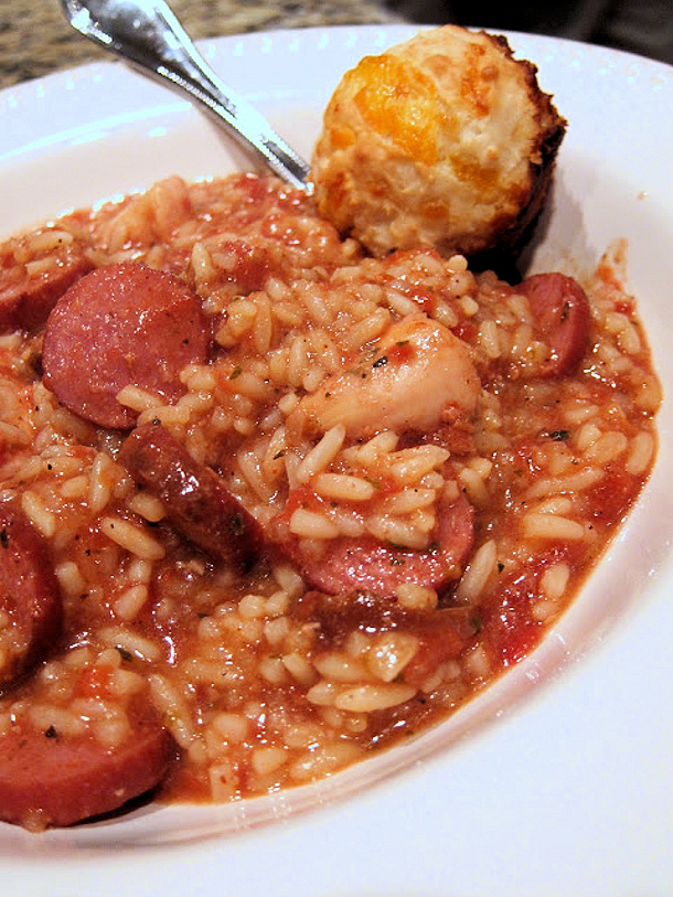 Easy Slow Cooker Jambalaya Recipe via Plain Chicken