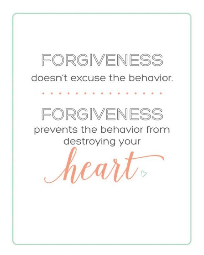 Forgiveness | landeelu.com  Free printable!