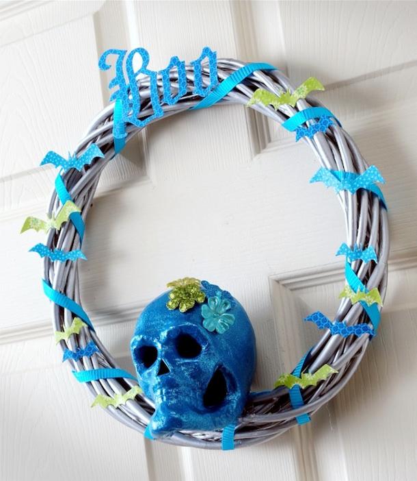 Turquoise-Skull-Wreath