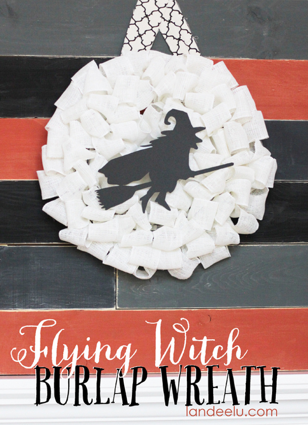 Witch-Burlap-Wreath