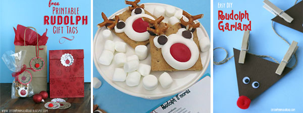 Rudolph the Red-Nosed Reindeer posts from Left on Peninsula Road