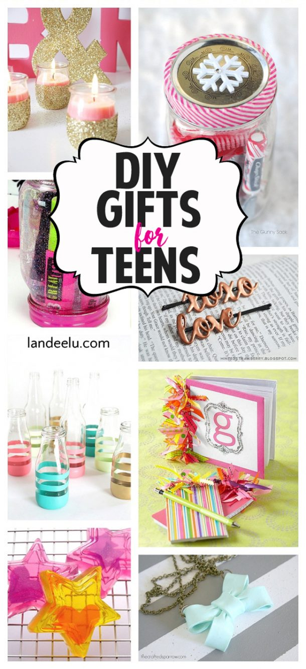 Christmas gift ideas for teens diy