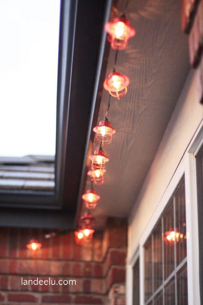 Christmas Porch Target Lights
