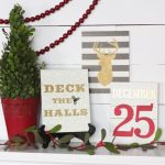 Easy DIY Christmas Signs! Make them in a couple of hours!