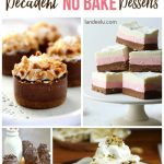 Decadent NO BAKE Dessert Recipes