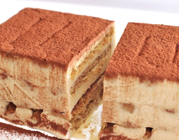 Healthy Tiramisu desserts with benefits