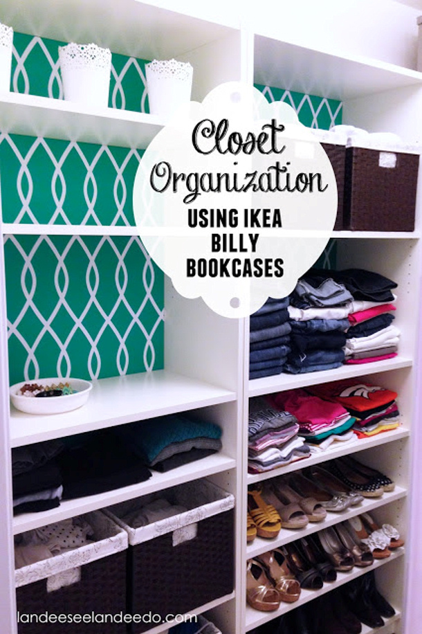 Ikea+Billy+Bookcases+Closet+Makeover+title