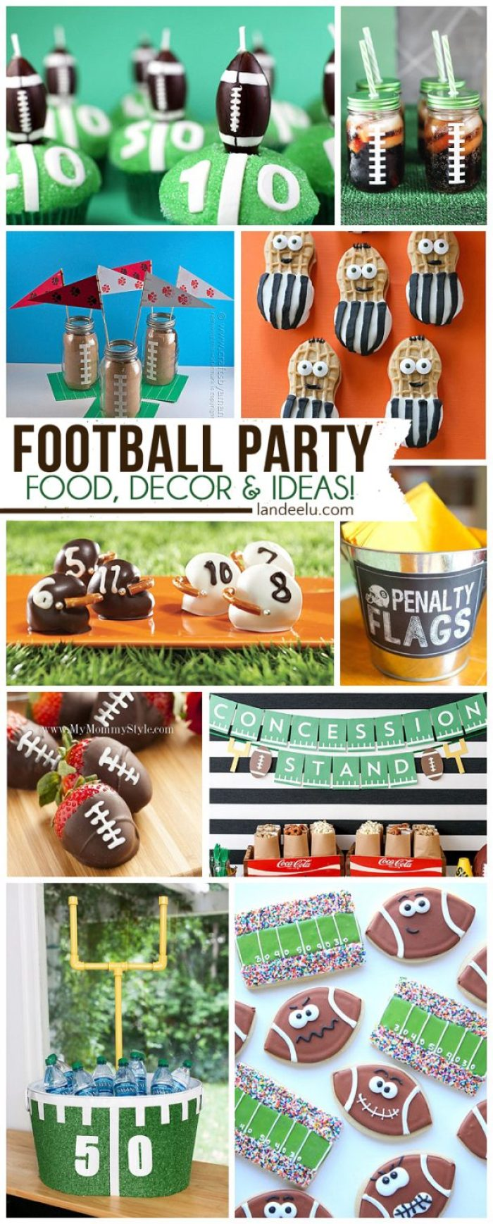 Football Party Food, Decorations and more great ideas!