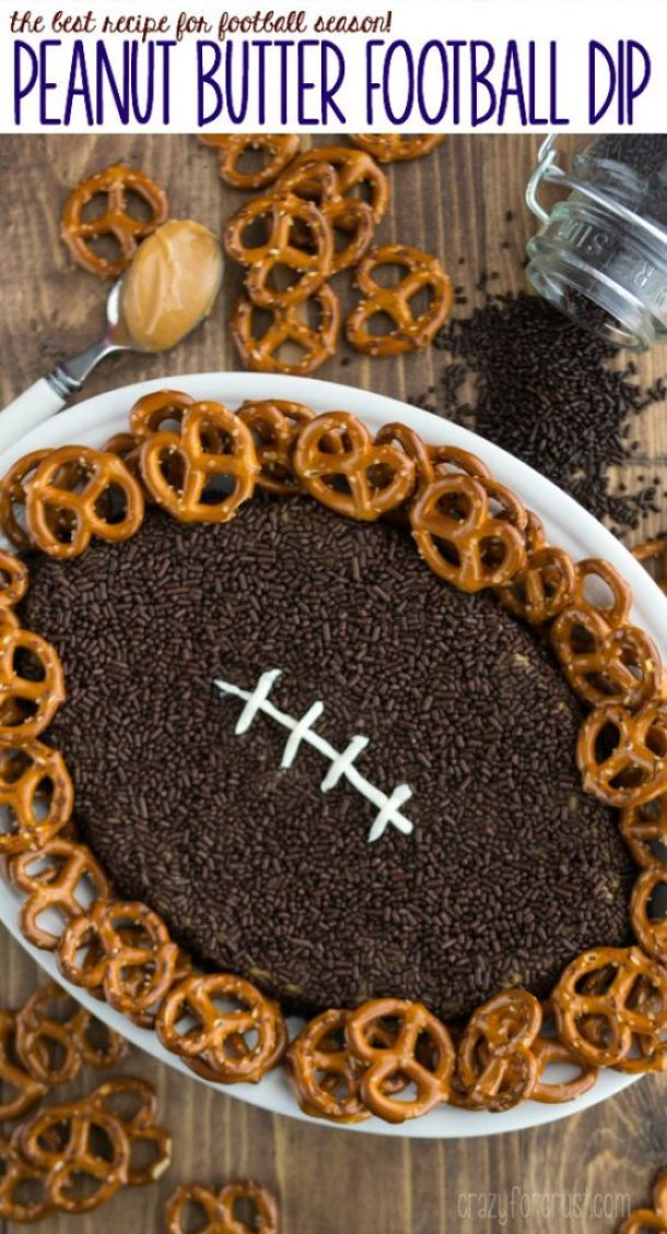 Peanut-Butter-Football-Dip